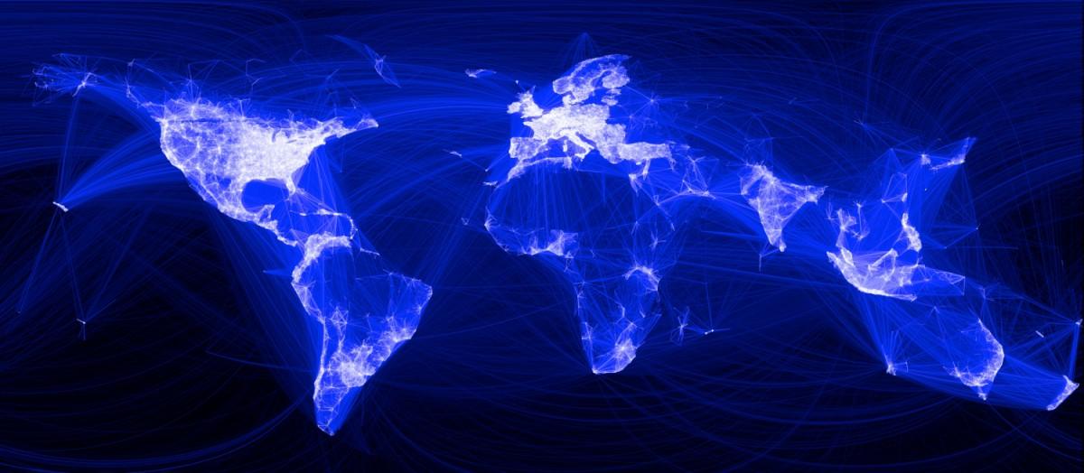"""Das Netz der """"Freundschaft"""", Facebook, hat sich wie ein stark infektiöser Virus auf der ganzen Welt verbreitet."""