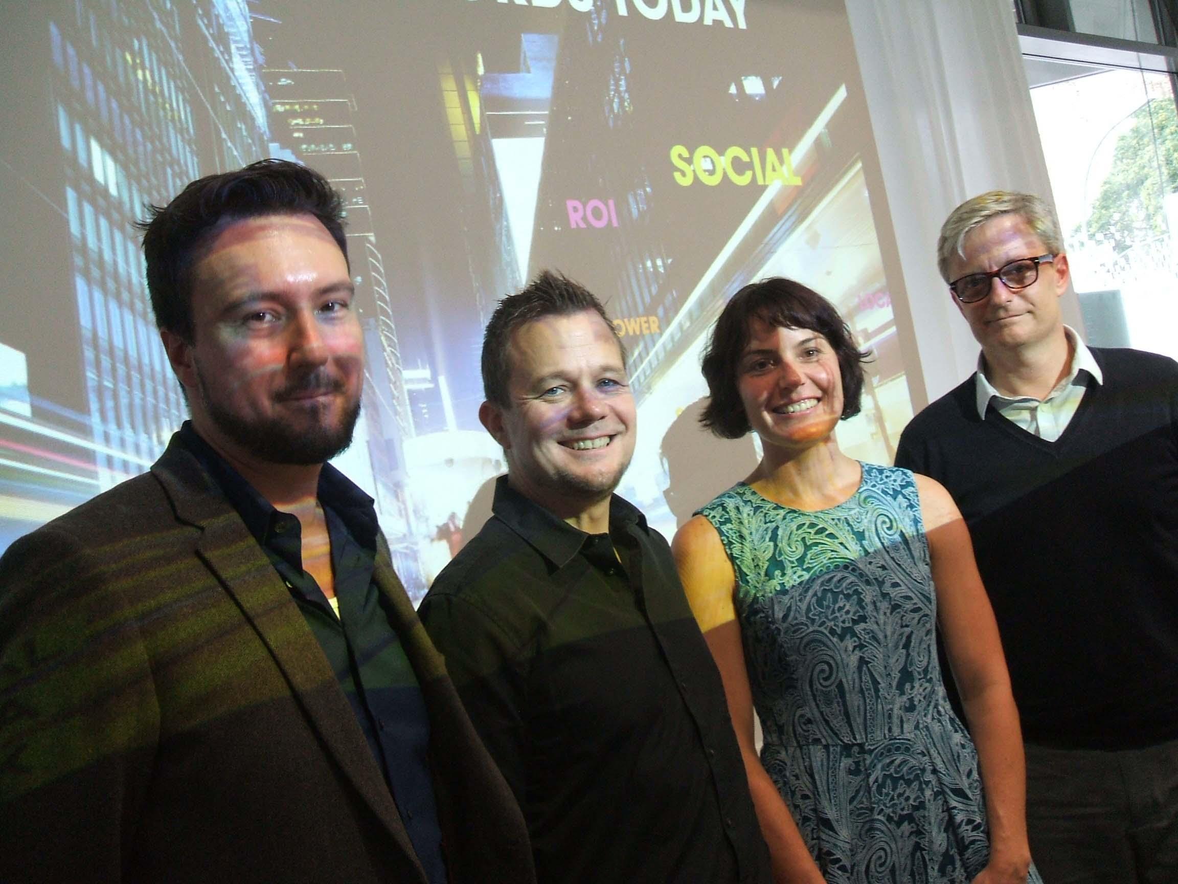Ulrik Bo Larsen | Falcon Social, Roland Fiege | Mediabrands Audience Platform, Armgard Eichhoff | Bazaarvoice, Thane Ryland | Nokia