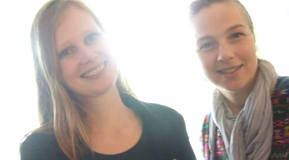 Silvia Stieneker und Christina Burger, Wikimedia Foundation