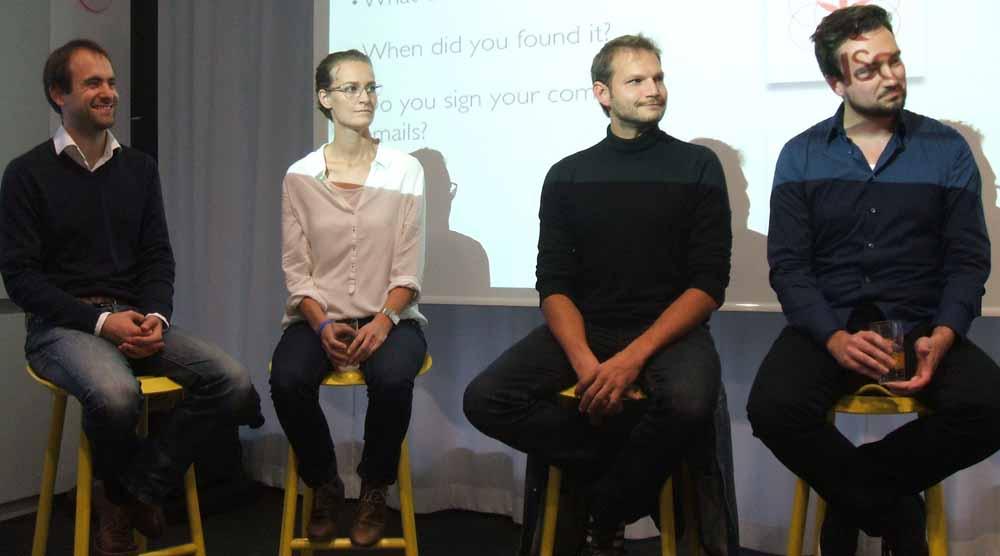 Jonas Piela, Ida Tin, Björn Troch, Ulrik Bo Larsen | The Social CEO (von Monica Zaldivar)