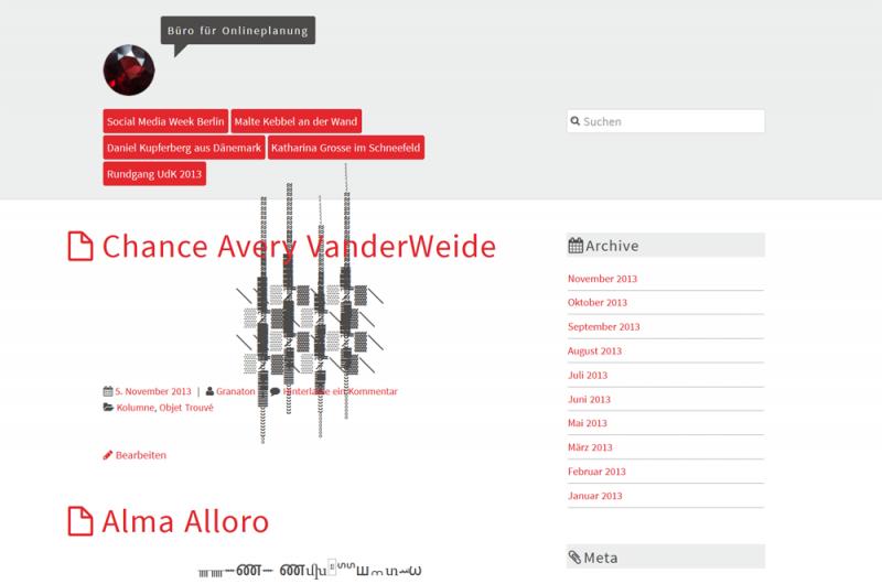 AlbinoMouse responsive WordPress Theme