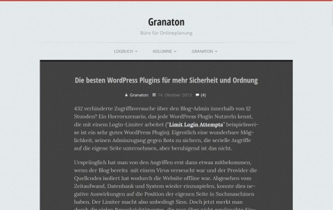 Socially Awkward WordPress Responsive Theme