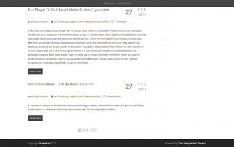 Suerte Free Responsive WordPress Theme