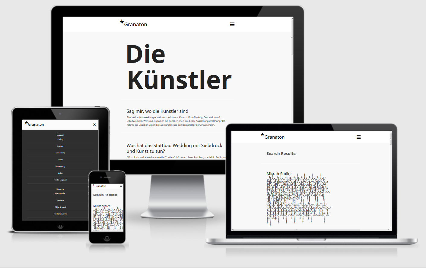 Free Wordpress Themes Wunderkammer Granaton