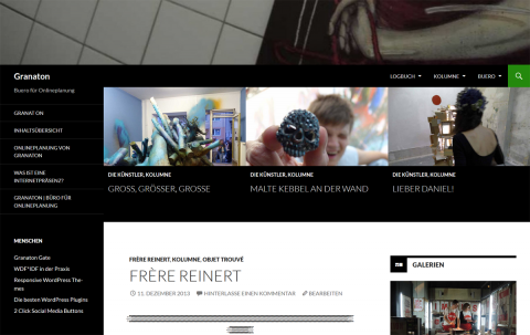 Twenty Fourteen Responsive WordPress Theme
