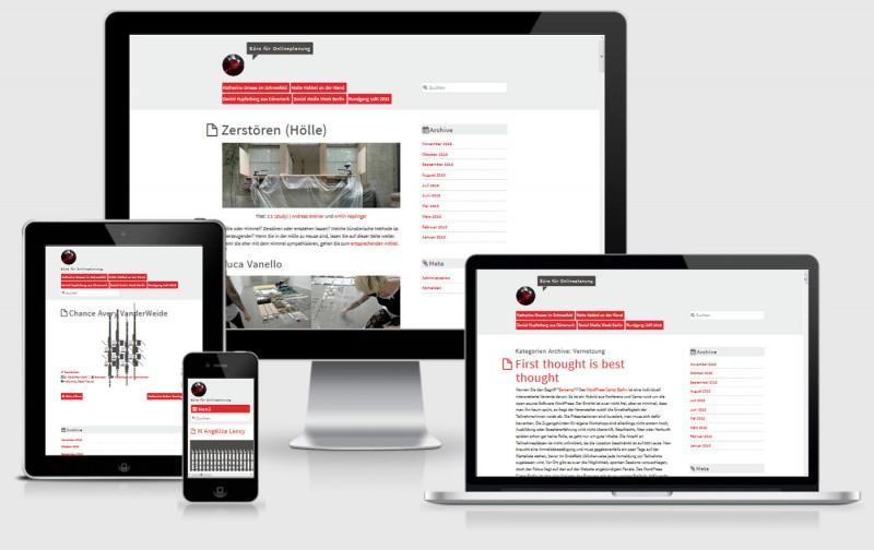 AlbinoMouse WordPress Responsive Theme