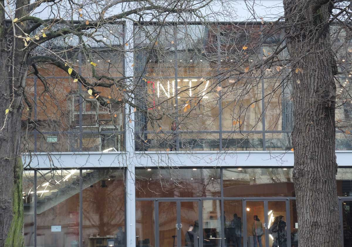 Netzkultur Außenansicht vom Haus der Berliner Festspiele