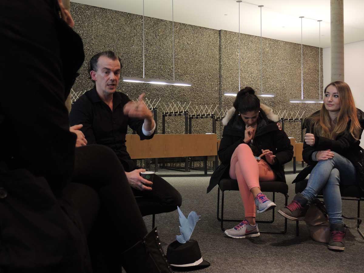 Netzkultur Twittersprechstunde mit Stephan Porombka