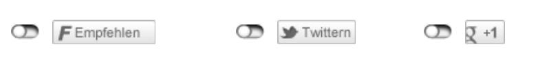 2-Click Social Media Buttons - Beispiel