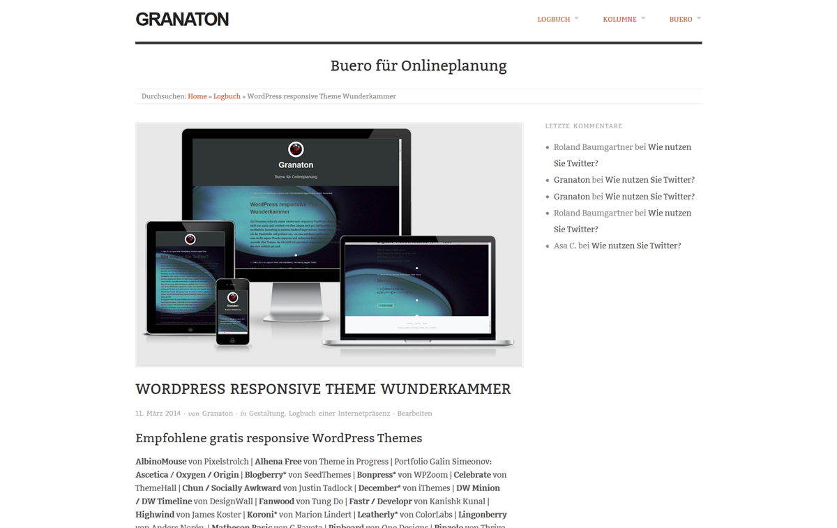 Origin WordPress Responsive Theme