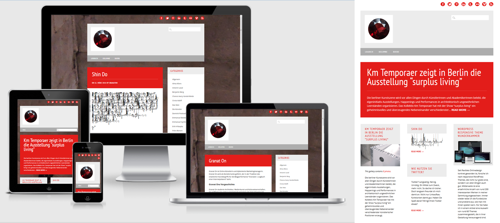 WP Barrister WordPress Responsive Theme