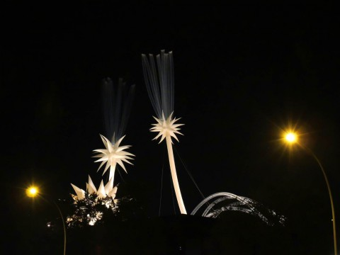 Otto Piene – Sky Art Event, More Sky, Neue Nationalgalerie, 2014, Berlin