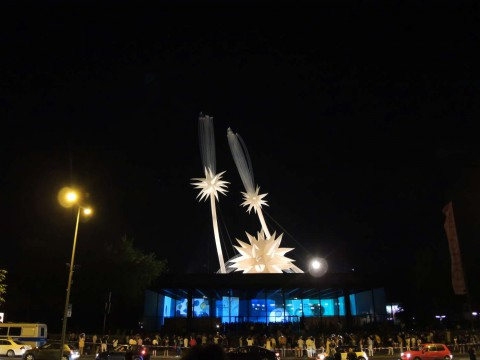 Otto Piene - Berlin Superstar - More Sky - Sky Art Performance - Neue Nationalgalerie - Berlin