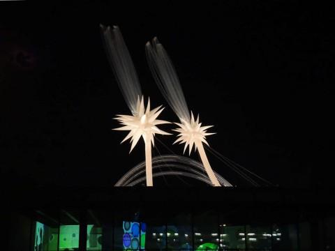 Otto Piene, Sky Art, More Sky, Neue Nationalgalerie Berlin, zwei Sterne