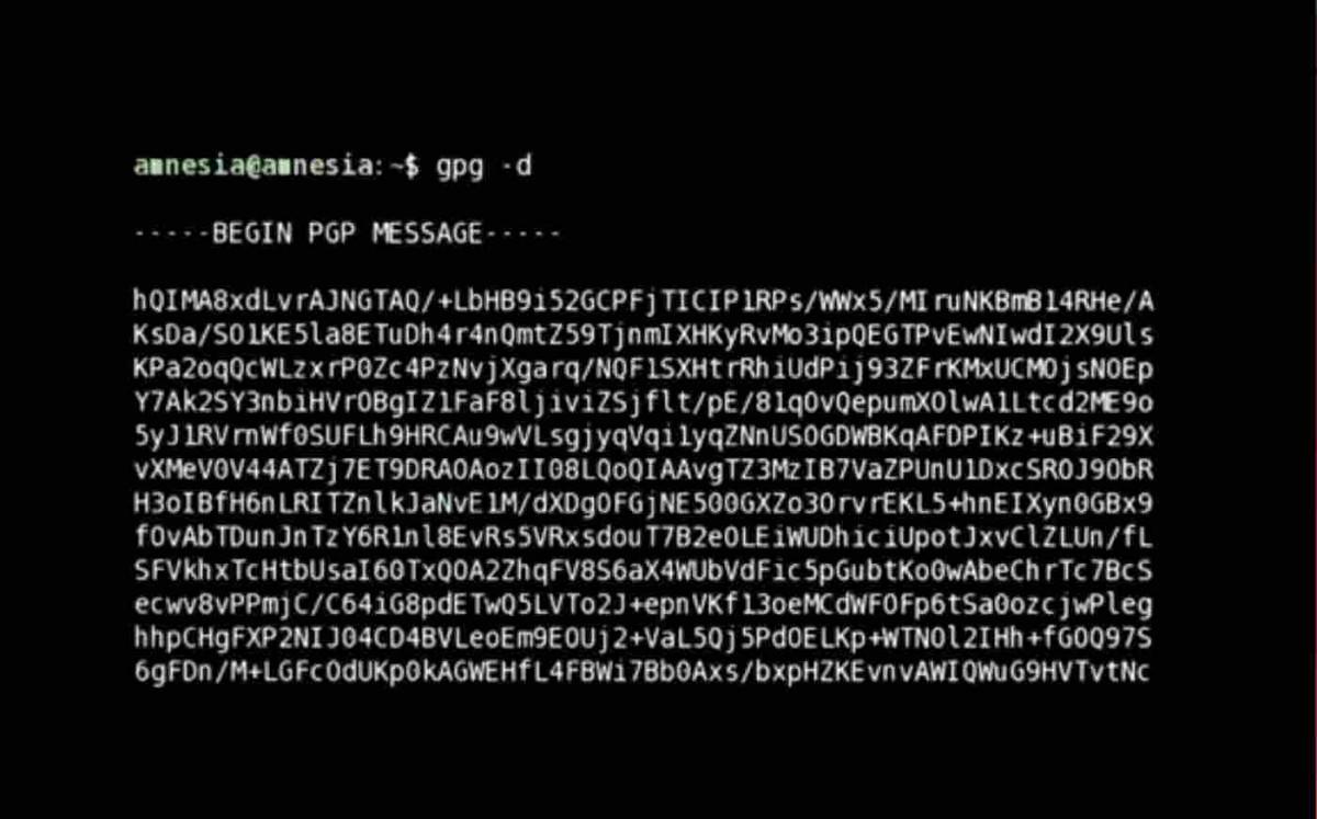 Edward Snowden - verschlüsselte Botschaft | CITIZENFOUR