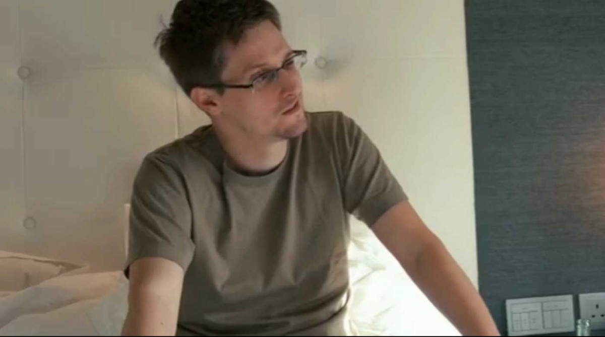 Edward Snowden: Who you are Quelle: CITIZENFOUR