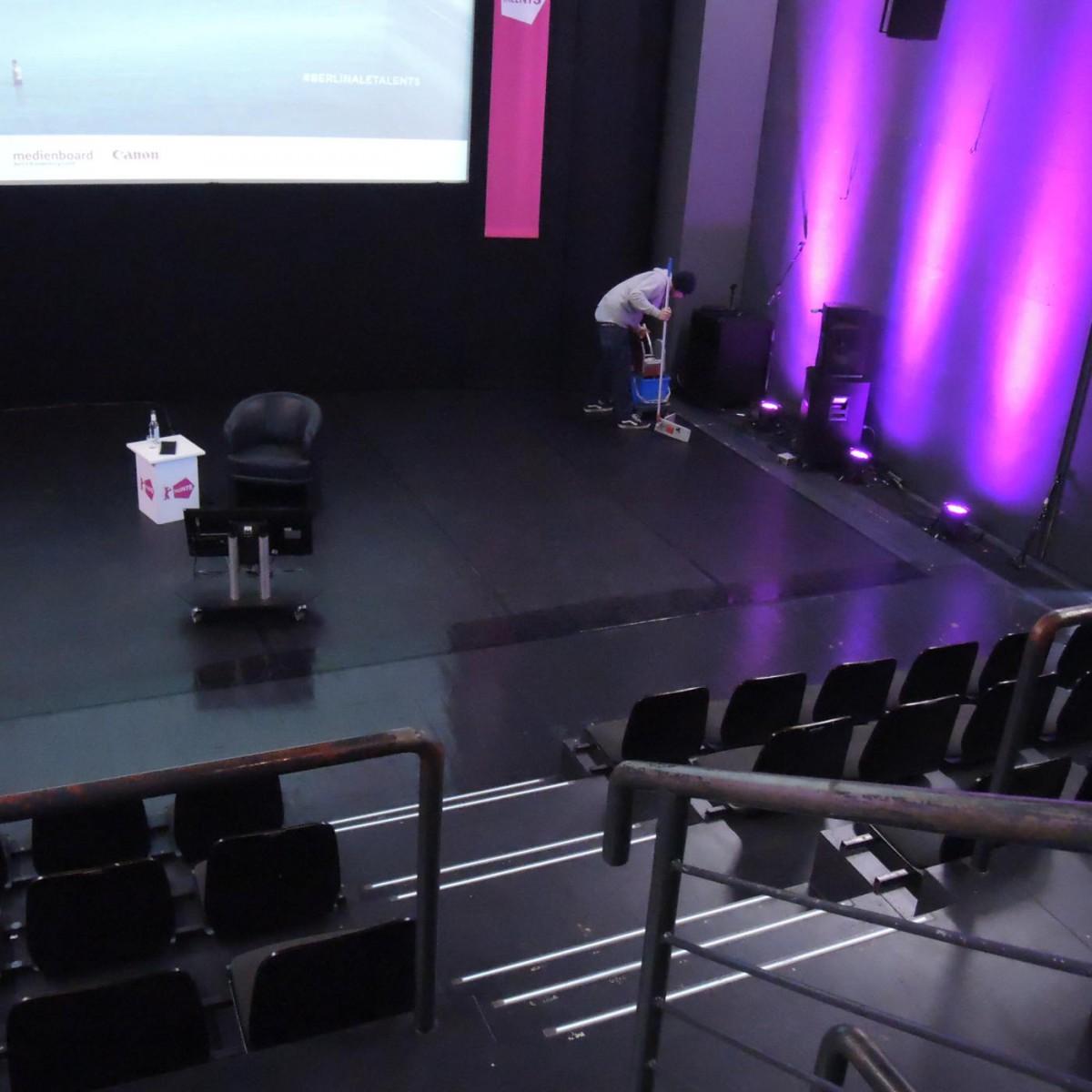 Hebbel Theater: Vorbereitungen