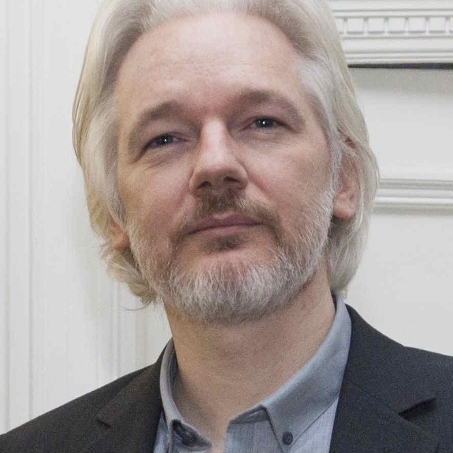 Julian Assange, 20. August 2014