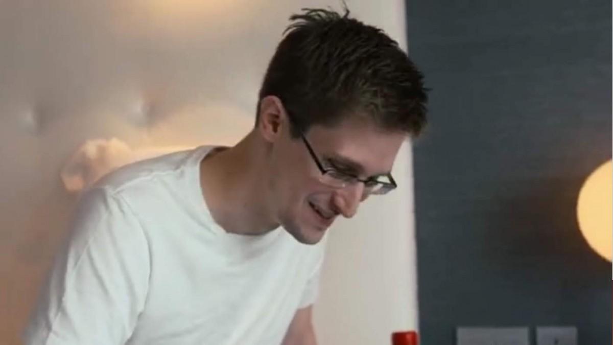 Edward Snowden erinnert sich nicht an seinen Namen